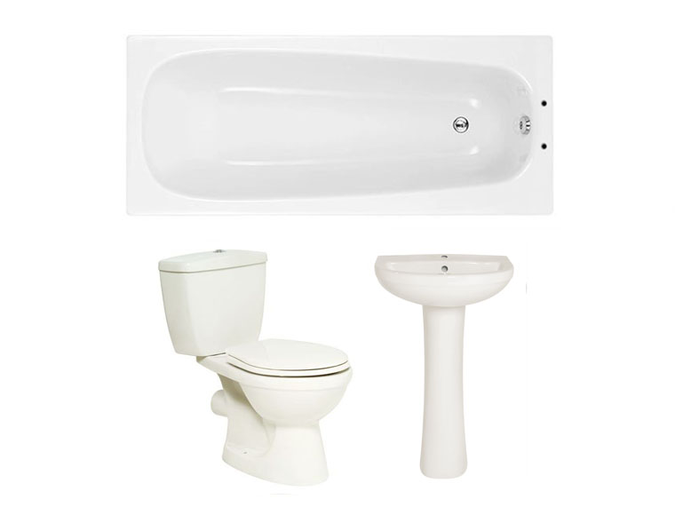 Rome Standard Suite Package (basin wc
