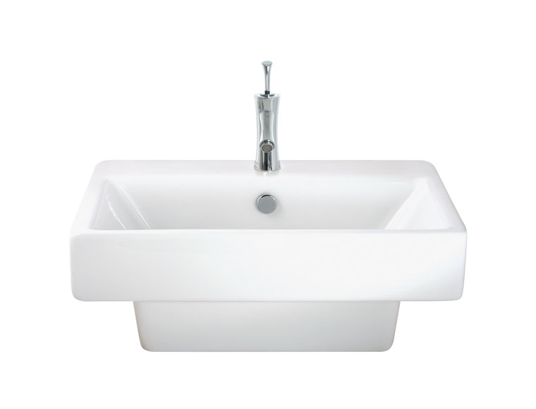 Stylish and superior quality wash basin. 500mm d x 545mm w x 200mm h - CLICK FOR MORE INFORMATION