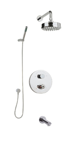 Tuscany Concealed Thermostatic Shower Mixer