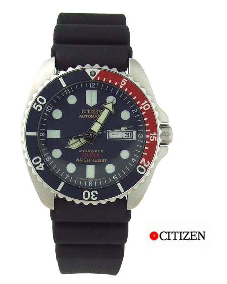 Citizen Mens 200m Divers Watch NY 2300 09L