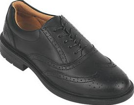 City Knights, 1228[^]71416 Brogue Executive Safety Shoes Black