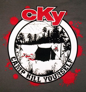 Camp Kill Yourself T Shirt