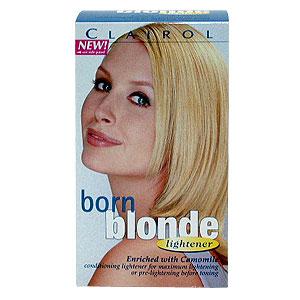 Clairol born blonde toner