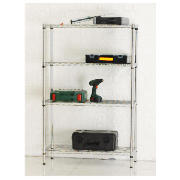 Clarke 4 Shelf Boltless Wire Shelving product image