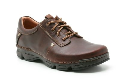 Clarks Rico Step Chestnut Leather