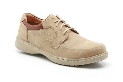 Clarks Summer Light Khaki Nubuck