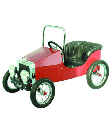 JALOPY RED Pedal Car.