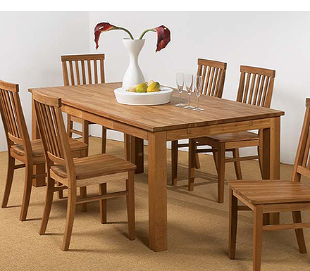 clearance stock clearance basel solid oak dining table in