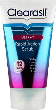 Clearasil, 2041[^]10084540 Ultra Rapid Action Scrub 125ml 10084540