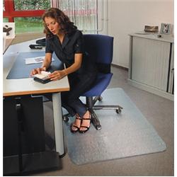 Chair Mat PVC for Low Pile 2.5mm Carpet