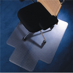 Chair Mat PVC with Lip for Deep Pile