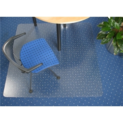 Cleartex Chair Mat Rectangular for Carpet