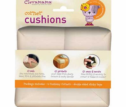 Clevamama Corner Cushions - Pack of 4