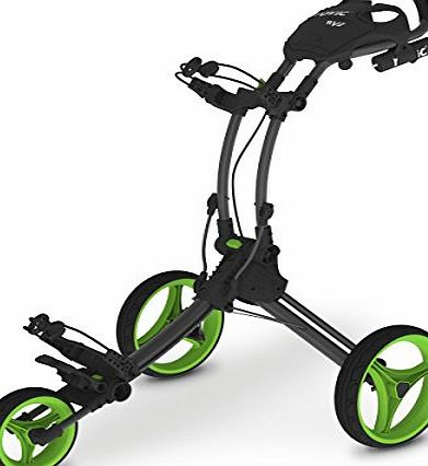 Clicgear Rovic RV1C Compact Golf Trolley, Color- Lime