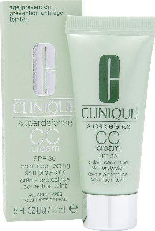 Clinique, 2102[^]0106674 Superdefense CC Cream SPF30 Light Medium