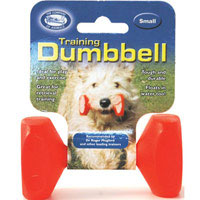 clix dog training retrieval dumbell small