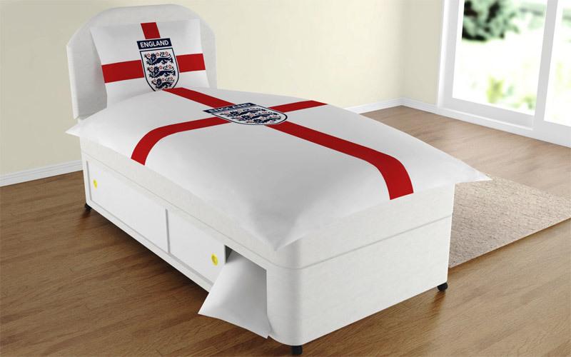England duvet for Divan bed sheet