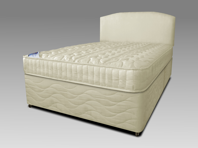 Cloud divan beds for Double divan bed no mattress
