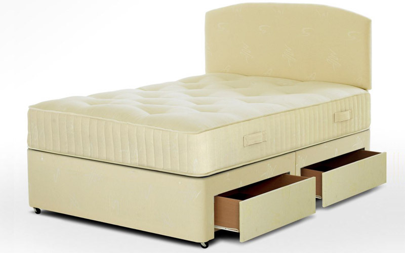 Single divan bed with drawers for Divan bed with drawers