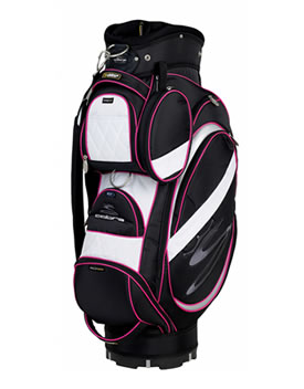 Golf LRC-09 Ladies Cart Bag Black/White/Pink