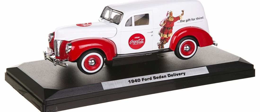 1940 Holiday Ford Panel Van 1:24 Scale