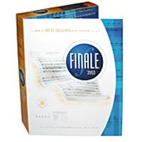 Finale 2005 Score software for PC/MAC