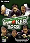 Codemasters World Championship Snooker 2003 PC