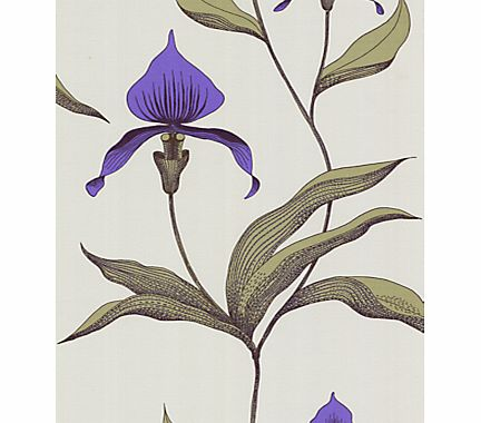 Orchid Wallpaper, Violet, 66/4024