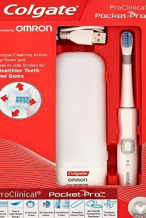 Colgate ProClincal Pocket Pro USB Rechargable Electric Toothbrush
