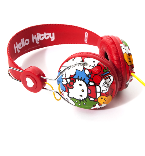 Hello Kitty Red Comic Headphones from Coloud