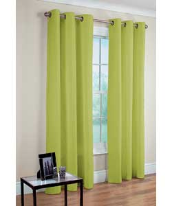 Lush Decor Celery 84-inch Luis Curtain Panels (Set of 2