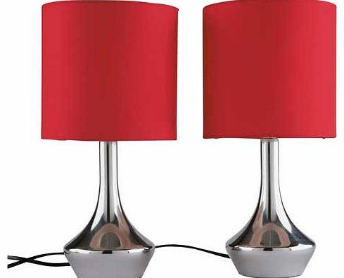 colour match table lamps