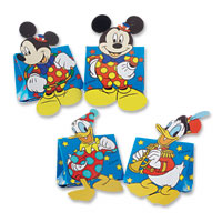 Blue disney assorted favour boxes pk 10