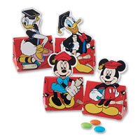 Red disney assorted favour boxes pk of 10