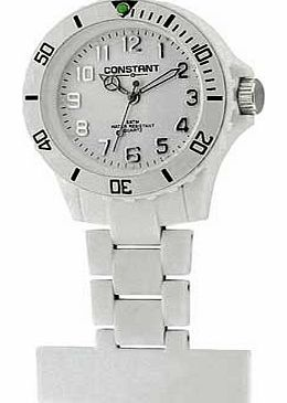 Constant White Sports Nurses Fob Watch product image