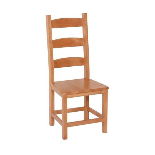 Country Pine Beech Amish Chair x2