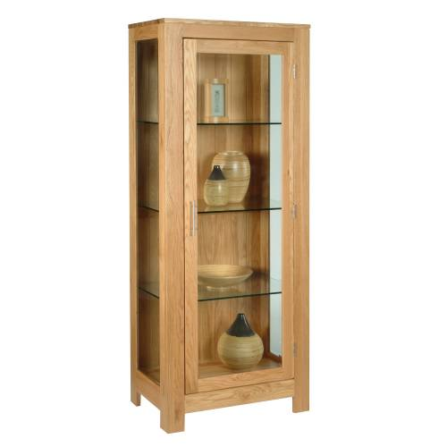 glass display cabinet : contemporary oak range contemporary oak glass display cabinet 303 245 from www.comparestoreprices.co.uk size 500 x 500 jpeg 16kB