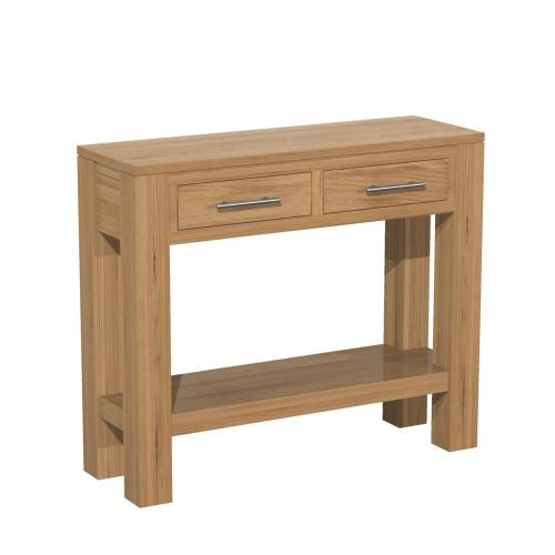 Contemporary oak range console tables for Small console tables contemporary