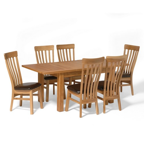 classic dining room sets : contemporary oak small dining set with 6 classic from www.comparestoreprices.co.uk size 500 x 500 jpeg 36kB