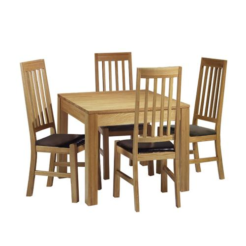 Contemporary Oak Dining Room Sets