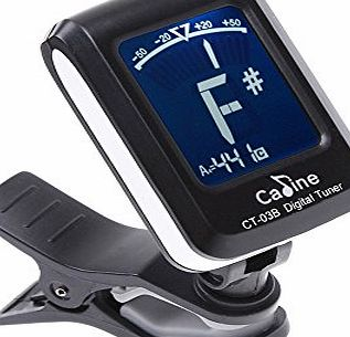 LCD Clip-on Electronic Digital Chromatic Tuner for Guitar Bass Violin Ukulele