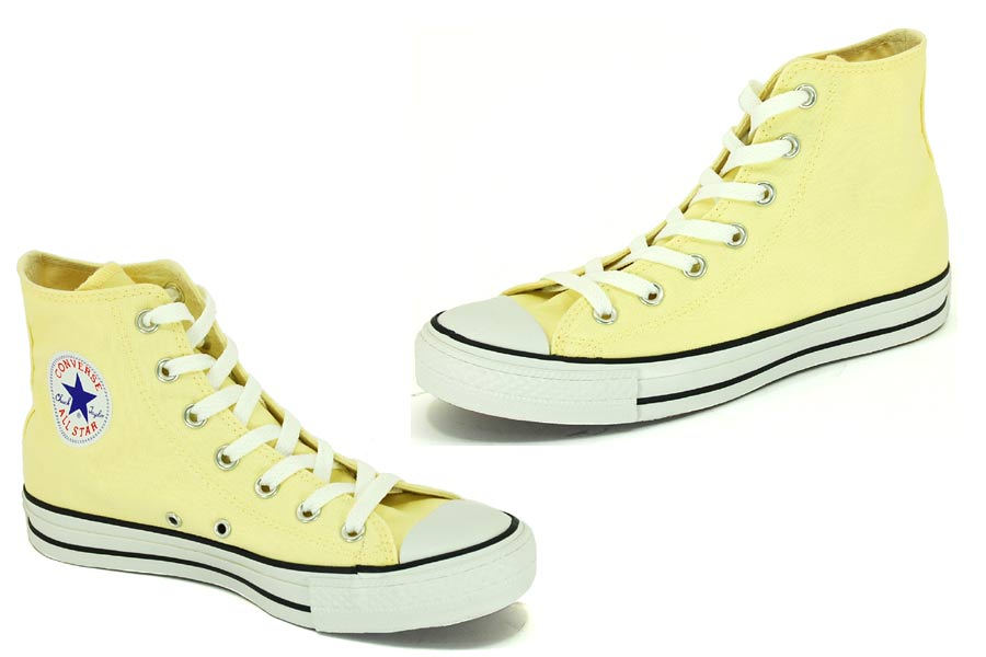 Converse - All Star - Light Yellow