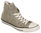 All Star Spec HI Grey/Black Canvas