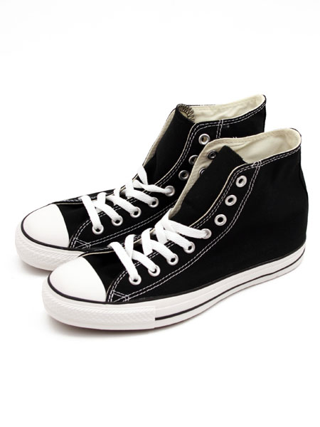 Black All Star Ox Hi Trainer