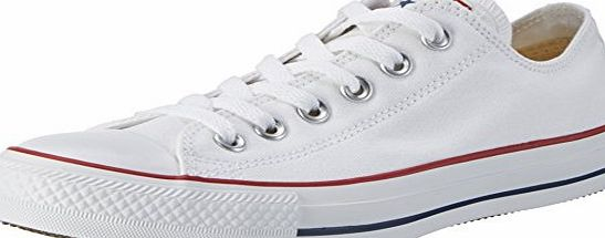 Converse Chuck Taylor All Star, Unisex Adults Trainers, Optical White, 10 UK (44 EU)