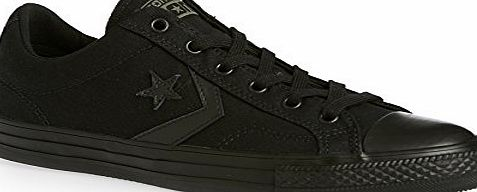 Converse Cons 142183 Unisex Canvas Trainers (6 UK, Black ik)