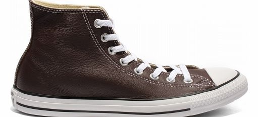 Converse CT All Star Hi Brown Leather Trainers