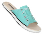 CT Cutaway Blue Canvas Sandals