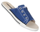 CT Cutaway Royal Blue Canvas Sandals