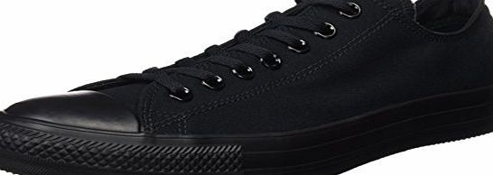 Converse Ctas, Unisex Adults Low-Top Sneakers, Black (Black Mono), 9 UK (42 1/2 EU)